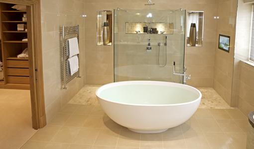 underfloor-heating-bathroom- towel warmer